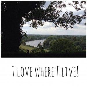 I love where I live