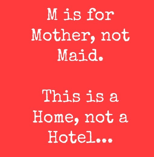 I am not your maid