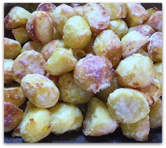 Proper roast potatoes