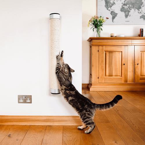 Catipilla cat scratch post