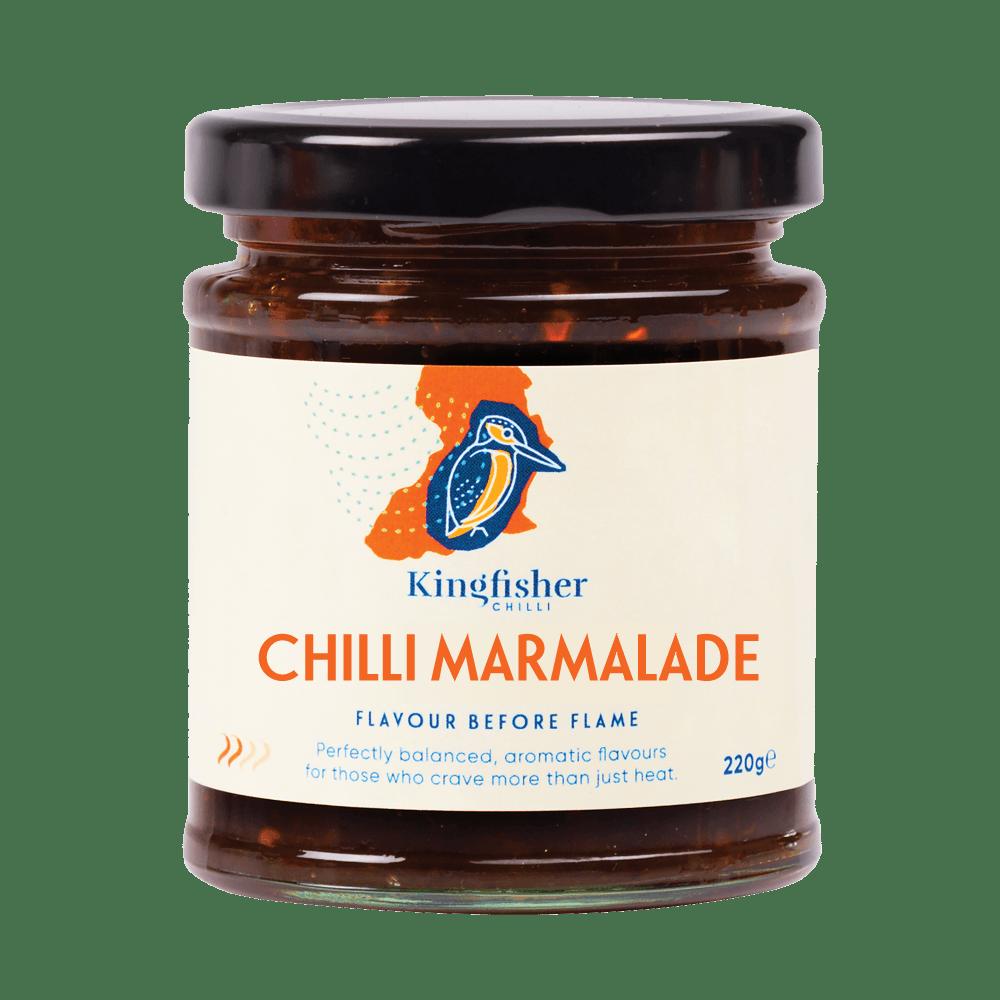 Crispy feta with chilli marmalade